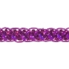 Sequin 6mm Round Trim Fuchsia Hologram